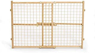 MidWest Wood Wire Mesh Pet Gate