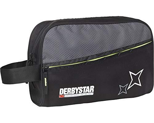 Derbystar 4556000290 torba na rękawice bramkarskie, 32,5 x 23,5 x 10 cm, czarno-szara