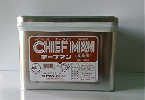 マリンフード チーフマン 8kg (業務用マーガリン)