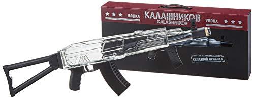 Kalashnikov Vodka Original Machine Gun Classix Box mit Geschenkverpackung Wodka (1 x 0.7 l)