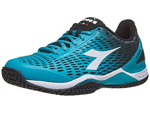 Diadora Womens Speed Blushield 2 Ag Tennis Sneakers Shoes Casual - Blue - Size 5.5 B