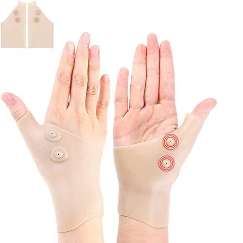 Gel-Handgelenk Daumenbandage für rechte und linke Hand, lindert Handgelenk- und Daumenschmerzen,für Daumen Arthritis, Karpaltunnel, Sehnenscheidenentzündung für Männer und Frauen