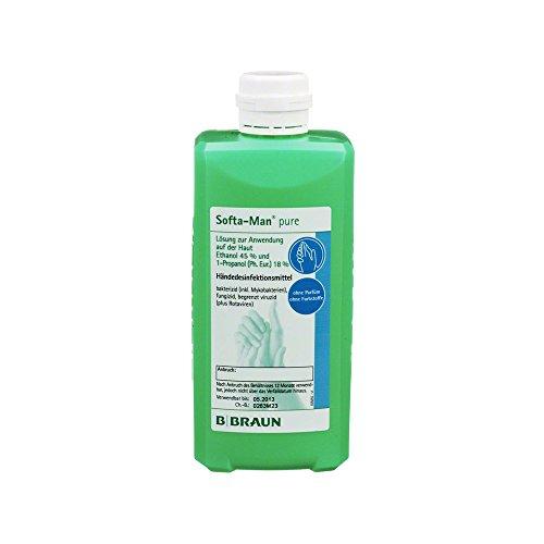 Softa-Man Pure manos desinfección dispensador de botella 500 ml