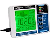 Hydrofarm APCEM2 Autopilot Desktop CO2 Monitor & Data Logger, Data, White/Blue...