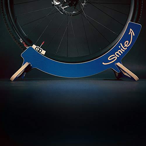 MTB Hopper - Soporte universal para bicicletas de carretera, ciudad, montaña y grasa, azul, 600x480x270mm