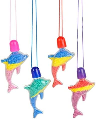Rhode Island Animer and price revision Novelty Dolphin Necklaces Sand online shopping Art