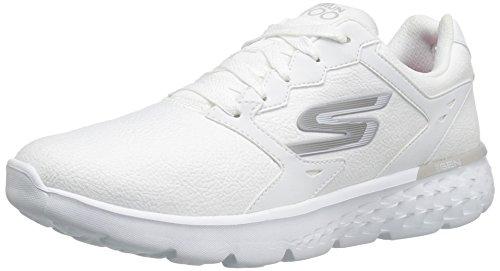 Skechers 111/WSL OG 85-Goldn Gurl Damen Sneaker weiß/Silber, Größe:41, Farbe:Weiß