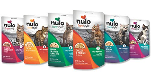 Nulo Freestyle Wet Cat Food Variety Pack Protein in Broth   Chewy