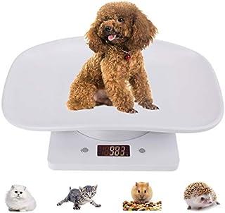 ترازوی حیوان خانگی ، ترازوی دیجیتالی وزن بدن حمام ، ترازوی کودک چند منظوره ، اندازه گیری دقیق وزن (حداکثر: 22 پوند) ، مناسب برای کودکان نوپا/توله سگ/گربه/سگ/بزرگسالان