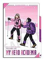 僕のヒーローアカデミア 雪山登山 3ポケットクリアファイル 麗日・耳郎