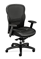 HON-Wave-Executive-Leather-Chair