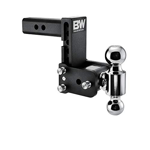 B&W Tow & Stow - Fits 2' Receiver, Dual Ball (2' x 2-5/16'), 5' Drop, 10,000 GTW