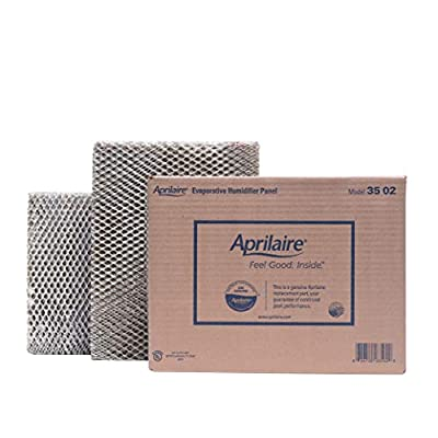 Aprilaire - 35 A2 35 Replacement Water Panel for Whole House Humidifier Models 350, 360, 560, 568, 600, 600A, 600M, 700, 700A, 700M, 760, 768 (Pack of 2)