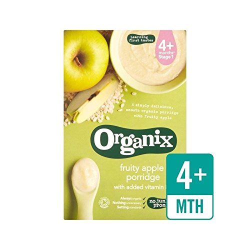 Organix Fruity Apple Max 55% OFF Stage 1 Cereal of Finally resale start Pack 4 - 120g