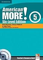 American More! Six-Level Edition Level 5 Teacher's Resource Book with Testbuilder CD-ROM/Audio CD by Rob Nicholas Cheryl Pelteret Julie Penn(2012-01-09)