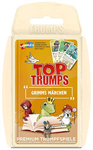 Winning Moves 63339 Grimms Top Trumps - Grimm's Märchen, Trumpfspiel