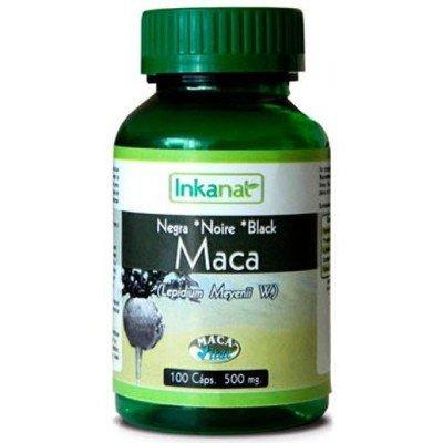 Inkanatura Maca Negra 100 Caps 100 Caps 100 ml