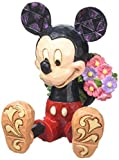 Disney Traditions Mickey With Flowers Mini