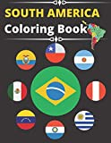 South America Flags Coloring Book