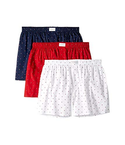 Tommy Hilfiger mens Underwear Multipack Cotton Classics Woven Boxer Shorts,...