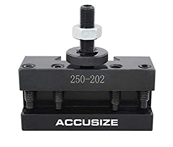 Accusize Industrial Tools Style Bxa Boring Turning and Facing Holder for 5/8   Turning Tools Quick Change Tool Holder Style 2 0250-0202