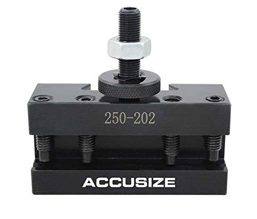 Accusize Industrial Tools Style Bxa Boring, Turning and Facing Holder, for 5/8'' Turning Tools, Quick Change Tool Holder, Style 2, 0250-0202