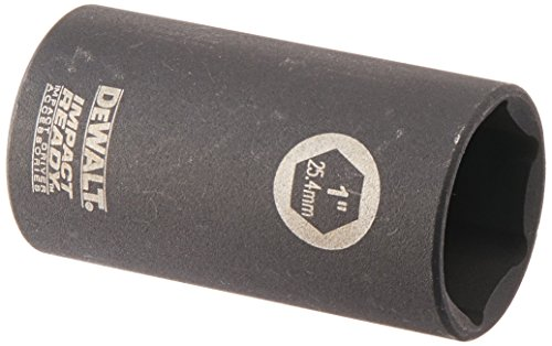 DEWALT DW2294 1-Inch IMPACT READY Deep Socket for 3/8-Inch Drive
