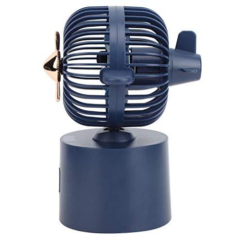 Omabeta Ventilador oscilante de Suministros para el hogar Ventilador de Escritorio ecológico fácil de Usar para la Oficina al Aire Libre en el hogar(Blue)