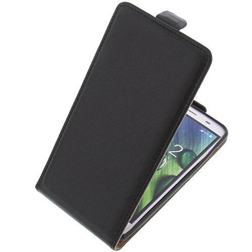 foto-kontor Tasche für Acer Liquid Z6E Smartphone Flipstyle Schutz Hülle schwarz