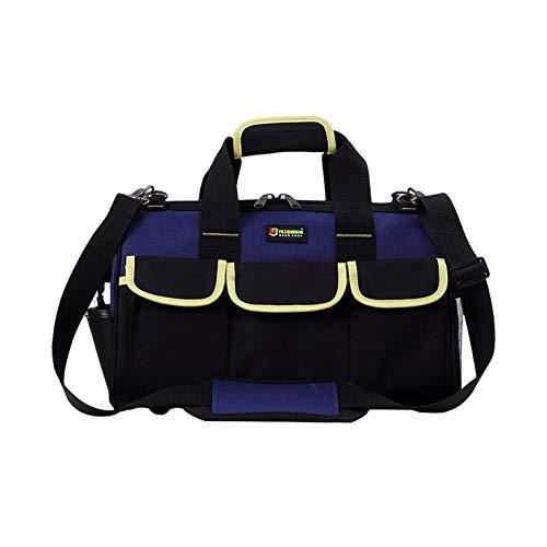 Gereedschapstas met grote capaciteit van 14/16/20 inch, waterdichte tas voor elektriciens, handtas