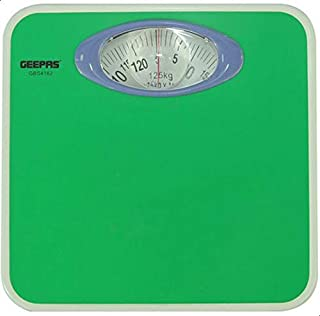 GeepasMechanical Health Scale With Analog Display - White, Gbs4162
