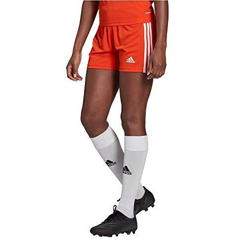 adidas Squad 21 SHO W Damen-Shorts, Damen, Kurze Hose, GN8086, Theorea/Weiß, XS