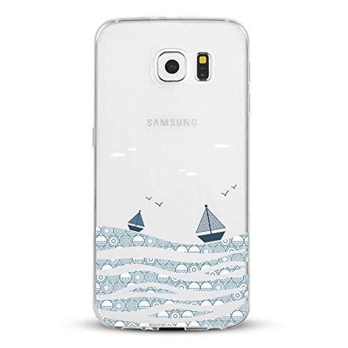 Coque Compatible Pour Samsung Galaxy S7,Ultra Flex Series Housse de protection souple avec Protection Flexible et Crystal TPU Premium Galaxy S7 [Très Légère / Ajustement Parfait / Mince] (La voile)