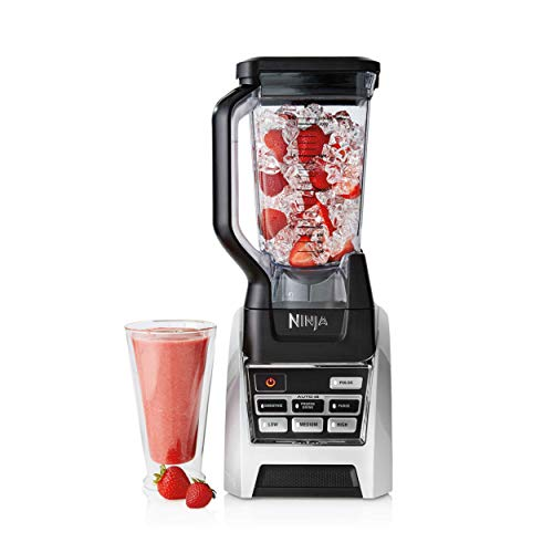 Ninja Countertop Blender with 1000-Watt Auto-iQ Base for Shakes, Smoothies and Frozen Drinks with 72oz Total Crushing Pitcher (BL688) (Renewed)