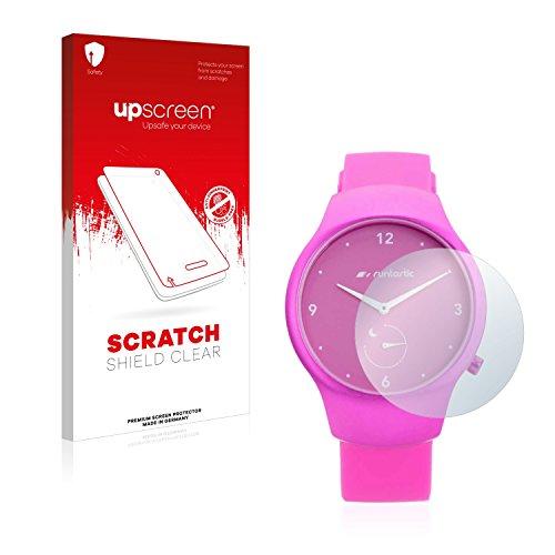 upscreen Schutzfolie kompatibel mit Runtastic Moment Fun – Kristallklar, Kratzschutz, Anti-Fingerprint