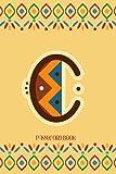 """C Password Book: """" C """" Monogram initial Password Book, Boho/African/Ethnic Design with Alphabetical ..."""