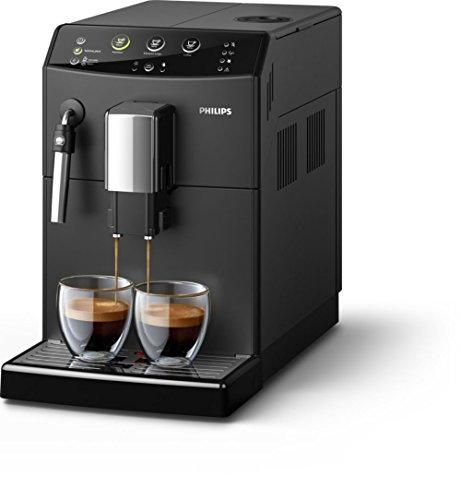 Philips 3000Series hd8827/09Espresso Machine 1.8L 15tazas Black-Coffee (Freestanding, Fully Automatic Espresso Machine, Coffee Beans, Ground Coffee, Black, Plastic, Stainless Steel)