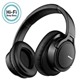 Mpow H7 Casque Bluetooth sans Fil,Casque Audio Confortable Cache-Oreilles Portable et Pliable,CVC 6.0 Casque sans Fil,Stéréo Hi-FI avec 18-25 Heures Casque Bluetooth pour Téléphone/Tablettes/PC