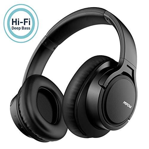 Mpow H7 Casque Bluetooth sans Fil,Casque Audio Confortable Cache-Oreilles Portable et Pliable,CVC 6.0 Casque sans Fil,Stéréo Hi-FI...