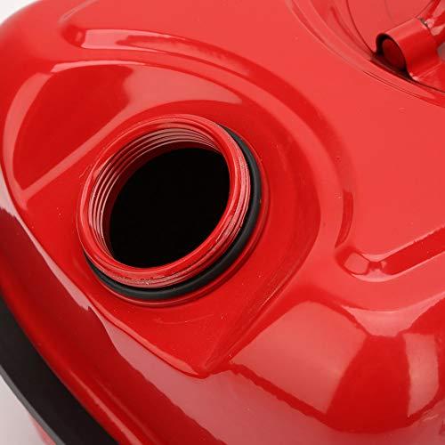 Bidón portátil del bidón de aceite del recipiente de gasolina del metal de la capacidad del depósito de gasolina 10L con el tubo