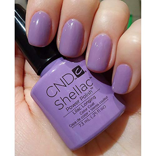 CND SHELLAC Lilac UV GEL COAT - NEW SWEET DREAMS SPRING 2013 COLLECTION (Gel Nagellack)