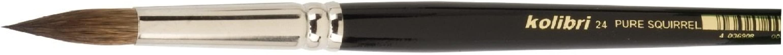 spitze Form /Ø 2,7 mm Schriftenpinsel rund KOLIBRI Serie 3006 wei/ße japanische synthetische Haare Gr 6 3006//06