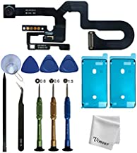 Vimour OEM Front Camera Replacement for iPhone 8 Plus 5.5 inch Model (A1864, A1897 and A1898),Microphone Replacement,Proximity Light Sensor Flex Cable Ribbon Assembly with Repair Tools