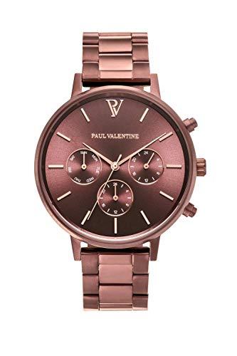 PAUL VALENTINE ® Reloj Multifunctional para Mujer de...