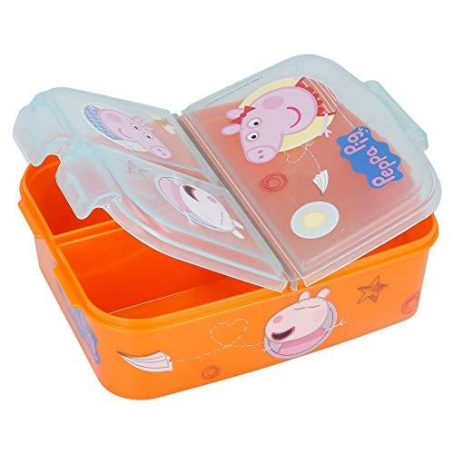 Peppa Pig - Fiambrera para niños, diseño de Peppa Pig