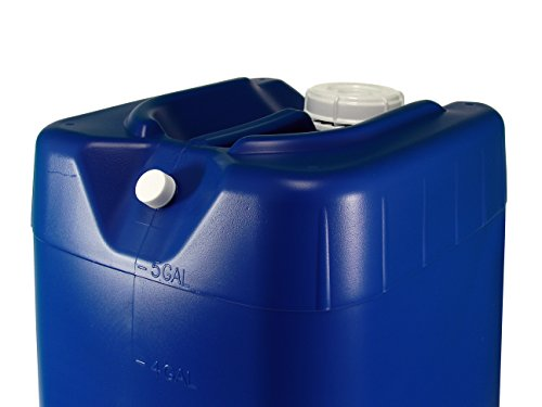 5 Gallon Samson Stackers, Blue, 8 Pack (40 Gallons), Emergency Water Storage Kit - New! - Boxed! Includes 1 Spigot and Cap Wrench 4