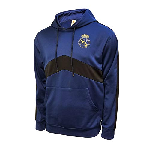 Icon Sports Men Real Madrid Jacket Officially Licensed Pullover Soccer Hoodie Medium 003