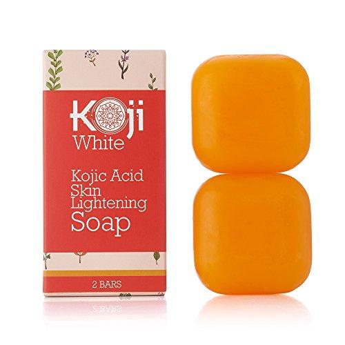 Pure Kojic Acid Skin Lightening Soap For Hyperpigmentation, Dark Spots, Sun Damage, Uneven...