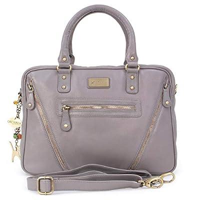 CATWALK COLLECTION - Bolso de Mujer Para Trabajo/Oficina - Cuero Vintage - SIENNA de Catwalk Collection Handbags