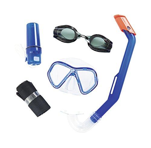 Bestway Hydro-Swim Schnorchel-Set, für Kinder Lil\' Barracuda, sortiert